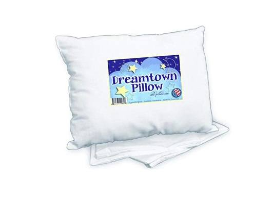 An image featuring Dreamtown Kids Toddler Pillow