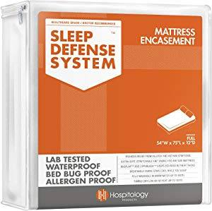 HOSPITOLOGY Sleep Defense System Bed Bug Mattress Protectors