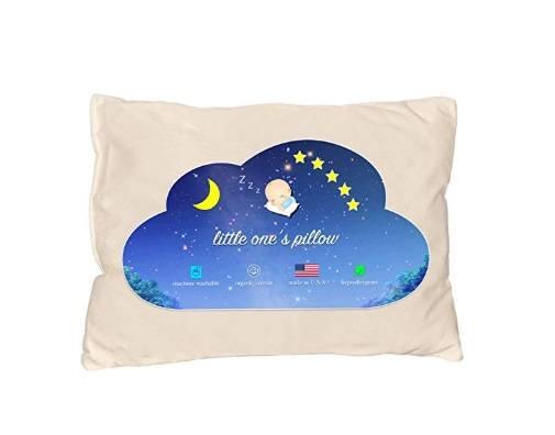 An image featuring Little One's Pillow Toddler Pillow