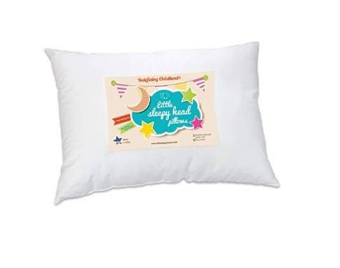 An image featuring Little Sleepy Head Toddler Pillow