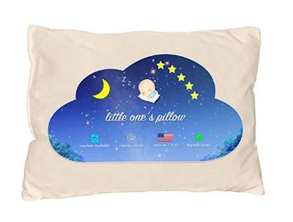 An image featuring Little One's Organic Toddler Pillow