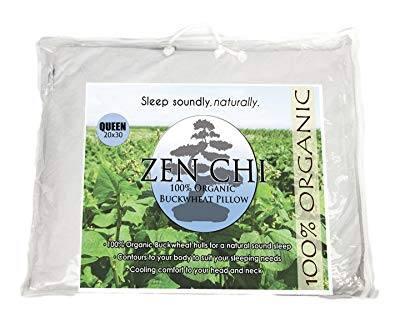 An image featuring Zen Chi Organic Buckwheat Pillow