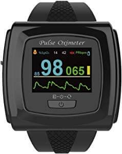 An image featuring Innovo Bluetooth-Enabled 50F Plus Wrist Pulse Oximeter